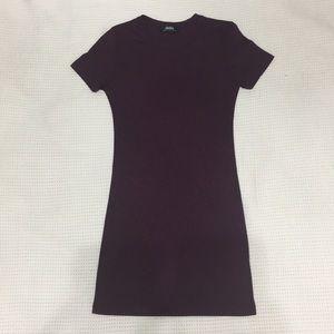 Rubbed T-Shirt Dress